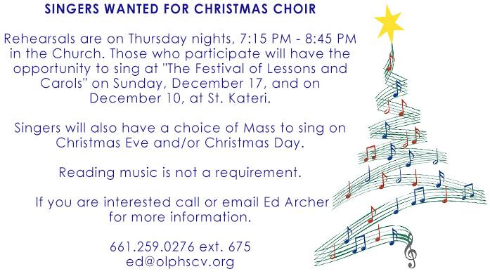 christmas choir 2017